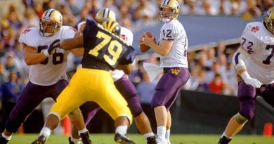 Washington defeated Michigan in the 1992 Rose Bowl