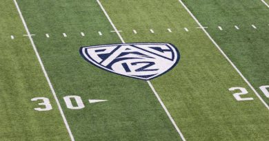 Pac-12 football field