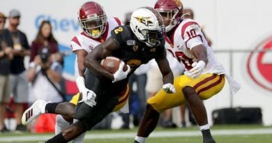 Rice: Veteran Frank Darby Paces a Trio of Talented ASU Freshmen Wideouts