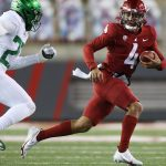 Schoeler: Washington State's Jayden de Laura is making noise in the Pac-12