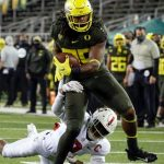 Courtney: Does a leader emerge at tight end for Oregon?